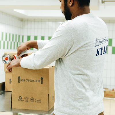 logistica imballaggio