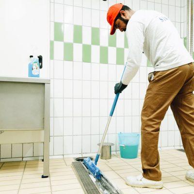 pulizia particolare spazzola operatore d14
